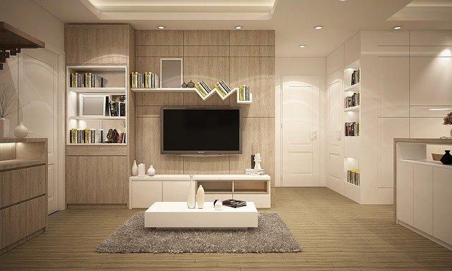 bílá stěna