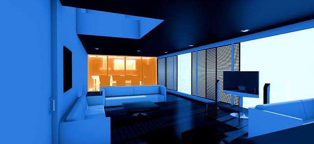Inteligentne rozdelený interiér